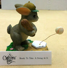 "CHARMING TAILS, FITZ AND FLOYD, ""READY TO TAKE A SWING AT IT"" ITEM 87/804"