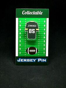 Green Bay Packers Greg Jennings jersey lapel pin-Classic throwback Collectable