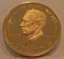 Venezuela 1958 Gold Medal World War II Issue - Leopold III of Belgium