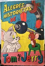 ALEGRES HISTORIETAS DE TOM Y JERRY. Fher, 1957. Álbum cromos completo