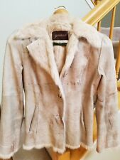 GUESS Suede And Rabbit Fur Blazer/Jacket - XS