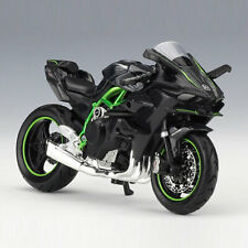 1:18 Kawasaki Ninja H2 R Motorrad Modell Die Cast Spielzeug Sammlung Schwarz
