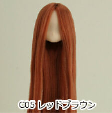 Obitsu Doll 11cm hair implantation head for Whity body (11HD-F01NC05) R BRN