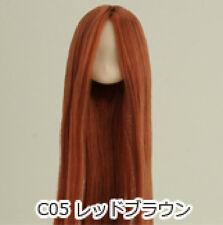 Obitsu Doll 11cm hair implantation head for Whity body (11HD-D01WC05) R BRN
