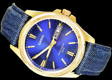 Casio Gold Ion MTP-E111GBL-2A Mens Watch Analog Classic Series Montre Watch
