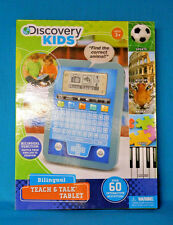 Discovery Kids Bilingual Teach & Talk Tablet 60 Built-in Activities Box Manual