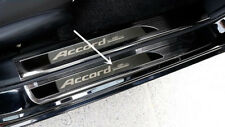 For Honda Accord 2013-2017 Stainless Outer Door Sill Scuff Plate Cover Black