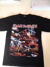 Iron Maiden Clansman Rara Camiseta. Talla M. Nuevo
