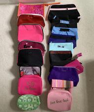 Lancome Clinique Makeup Travel Bag Lot!! 19 Bags