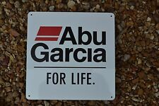 ABU-GARCIA Advertising SIGN Fishing Boat Rod Reels Lures Baitcaster Cardinal
