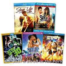 Step Up Complete Dance Series Movies 1 2 3 4 5 Box/BluRay Set(s) Collection NEW!