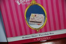 Bedtime Eloise Porcelain  Trinket Box  Figurine, NEW, by Madame Alexander