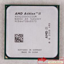 AMD Athlon II X2 220 Dual-Core CPU (ADX220OCK22GM) Socket AM3 2.8/4000 Free ship