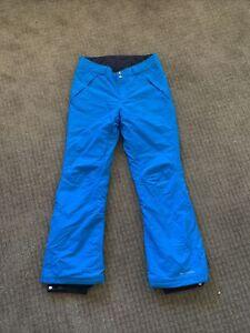 columbia snow pants women size medium