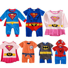 0d8d56a0b Superheroes Rompers (0-24 Months) for Boys