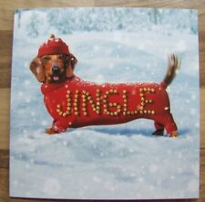 Sausage Dog Dachshund Quality Christmas Cards Pack of 10  ~100% for Charity~