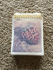 For Couples in Love by Dr James Dobson Spiral Bound Sealed Rare Marriage New '02