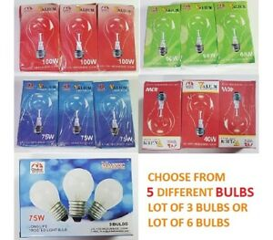 LOT OF VALIUM LIGHT BULBS 40W thru 100W  A19 MEDIUM BASE CLEAR 110V FROSTED 75W