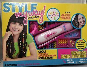 NOS 2014 Style my way Fashion Hair Beader.