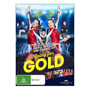 Going For Gold DVD Brand New Emily Morris (Cheerleading Aust Movie) - Free Post