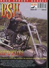 BSH THE EUROPEAN CUSTOM BIKE MAGAZINE - August 2001