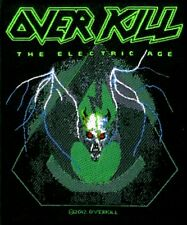 Overkill  - The Electric Age Aufnäher Patch Thrash Speed Metal Heavy Kutte Neu
