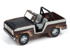 """Johnny Lightning 1:64 Scale Street Freaks - 1968 Ford Bronco """"Off Road"""" Cocoa Me"""
