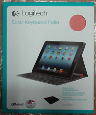 Logitech iPad2, 3, 4 Solar keyboard Folio Nordic Danish, Norwegian, Sweden, Finl