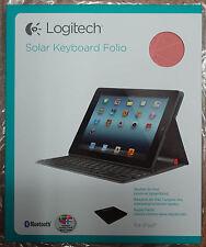 Logitech iPad2, 3, 4 Solar keyboard Folio Nordic Danish, Norwegian, Sweden, Finl