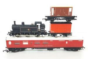 HORNBY R058 OO - BR BLACK 0-6-0 JINTY CLASS 3F, BREAKDOWN AUXILIARY TRAIN SET