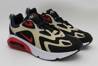 Nike Air Max 200 Men's 10.5 US  AQ2568 700 Gold Red Black NEW