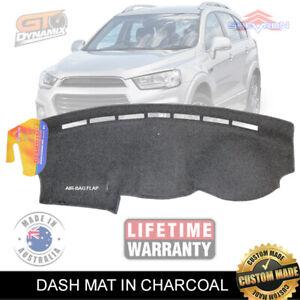 DASH MAT HOLDEN CAPTIVA CG LS LT LTZ 1/2016-Current Airbag-Safe Charcoal DM1431