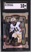 Alvin Kamara 2017 Panini Select Rookie SGC 10 Gem Mint