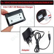 2In1 2S Lipo Battery Balance Charger 7.4V For Syma X8HC X6 X600 X101 Drone Quad