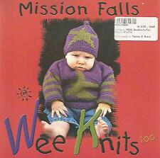 Mission Falls WEE KNITS TOO Knitting Pattern Instruction Book Babies 6-24 mths