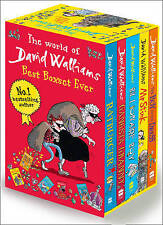 David Walliams Series 1 - Best Box Set Ever 5 Books Collection Set (Billionaire