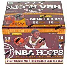 Panini 2013-14 NBA Hoops Basketball Cards - Jumbo Box