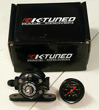SALE K-Tuned Billet Adjustable Fuel Pressure Regulator & Gauge K20 Swap Civic