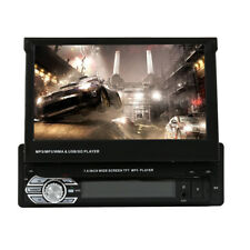 "1 DIN Single 7"" Touch Screen Car MP5 Player BT Radio Camera Sat NAV Stereo UK"