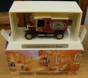 Matchbox YGB14 'Great Beers Of The World' 1912 Ford Model T 'Kirin'
