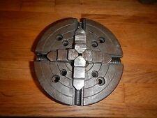 """Southbend 6"""" 4 Jaw - Metal Lathe Chuck - No. 4006 #787"""