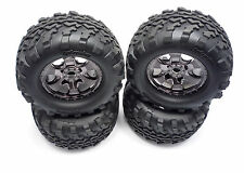 NEW 4.6 SAVAGE X 17MM WHEELS TIRES HPI GT2 FLUX XL 4462 105801