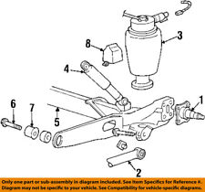 FORD OEM 99-03 Windstar Rear Suspension-Spring 3U2Z5580GA