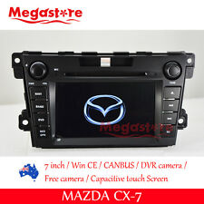 "7""  MAZDA CX-7 Car DVD GPS Player  2009-2012 Navigation gps support  bose system"