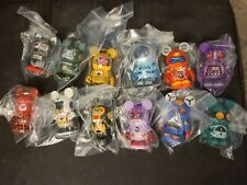 """Disney Vinylmation 3"""" Park Set 2 Robots Mix and Match Set of 12 with Chaser"""
