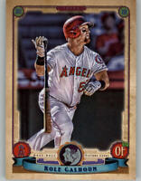 2019 Topps Gypsy Queen GQ Logo Swap Parallel KOLE CALHOUN Angels #219