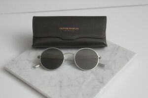 Oliver Peoples After Midnight The Row OV 1197 5254R5 Silver Grey