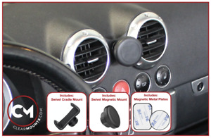 Clearmounts Swivel Magnetic & Cradle Phone Holder - Audi TT MK1 1999-2006 (8N)