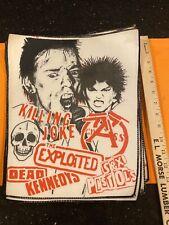 Punk Sex Pistols Back Patch Xl Dead Kennedy's