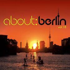 ABOUT:BERLIN VOL:18 (FLUME, PRETTY PINK, ALLE FARBEN,...)  2 CD NEU